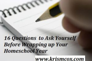 16 Questions to Ask Yourself Before Wrapping up the School Year