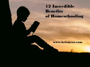 12 Incredible Benefits of Homeschooling