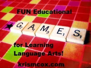 Fun Educational Games for Learning Language Arts