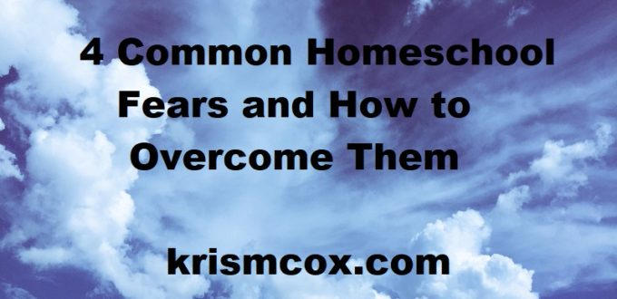 Overcoming the Most Common Homeschool Fears